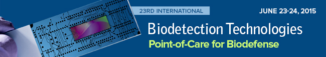Biodetection Technologies: Point-of-Care for Biodefense Banner 2